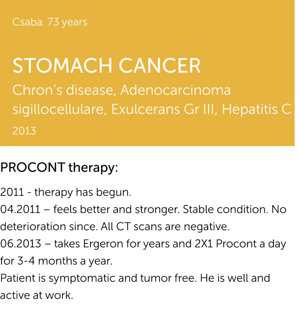 STOMACH CANCER 1