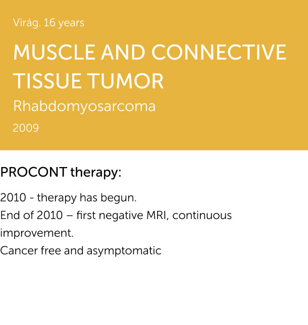 MUSCLE AND CONNECTIVE TISSUE TUMOR 1
