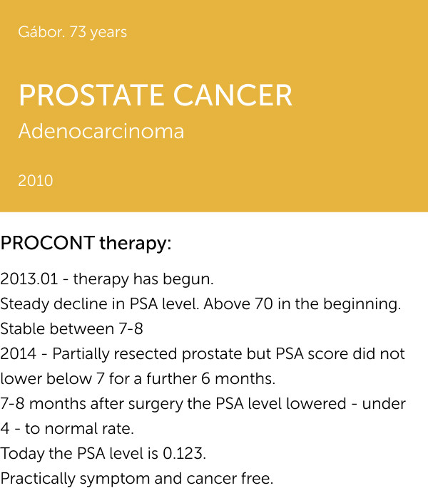 PROSTATE CANCER 1