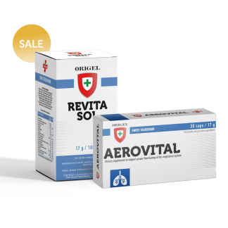 REVITASOL + AEROVITAL - Origel Inernational